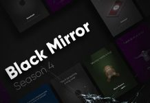 Black Mirror - animated posters of season 4 created by Francesco Hashitha Moorthy