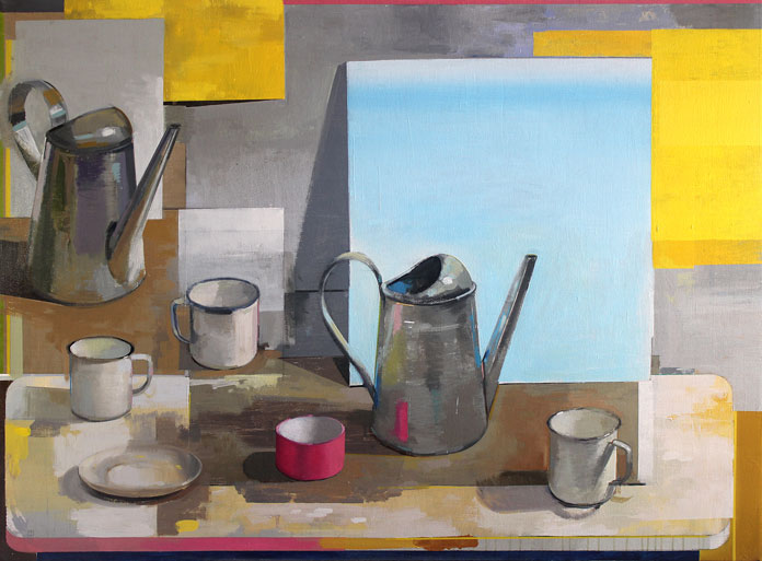 Christopher Thornock, Watering Cans.
