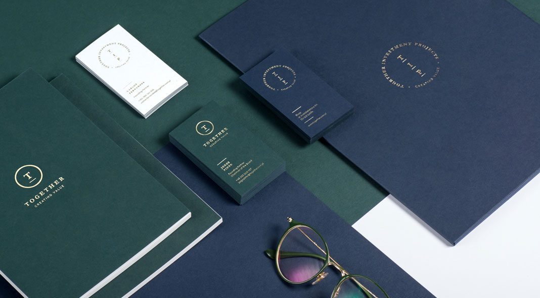 Graphic design and branding by Ollestudio for agency Together.