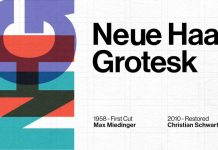 Neue Haas Grotesk from Linotype.