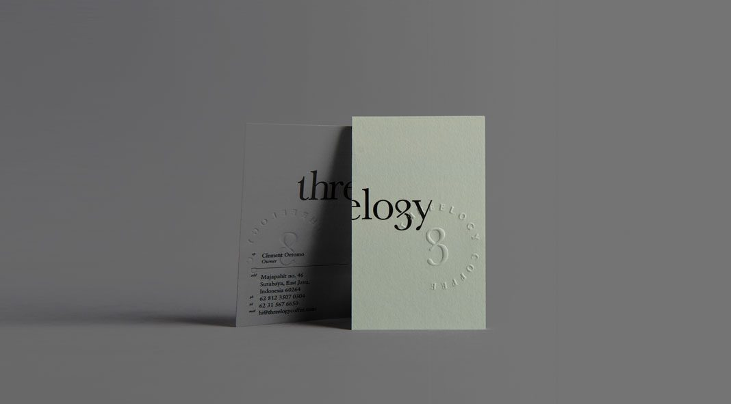 Threelogy graphic design and branding by Sciencewerk