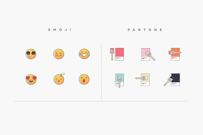 Emoji and Pantone