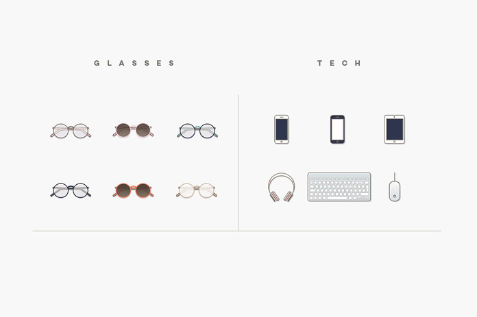 Glasses and tech