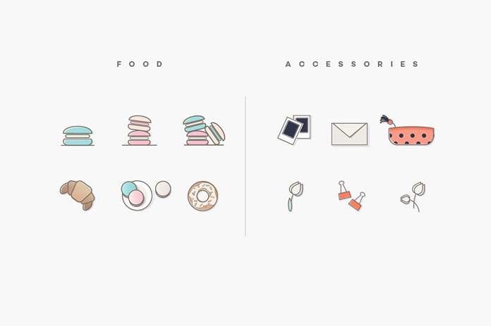Food and accessories