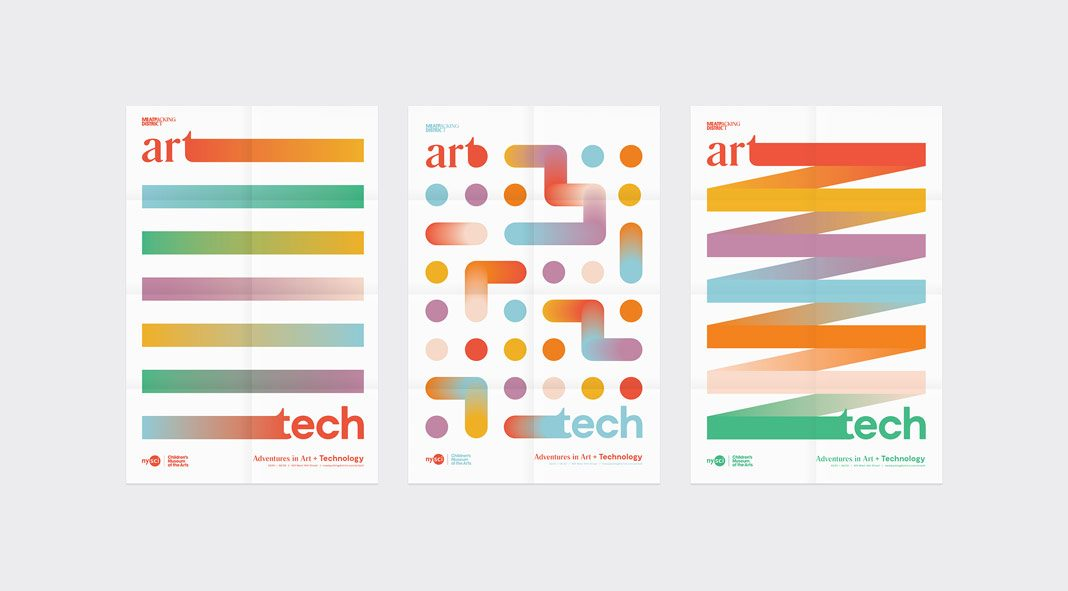 ArTech: Adventures in Art + Technology graphic design and branding by Craig Ward.
