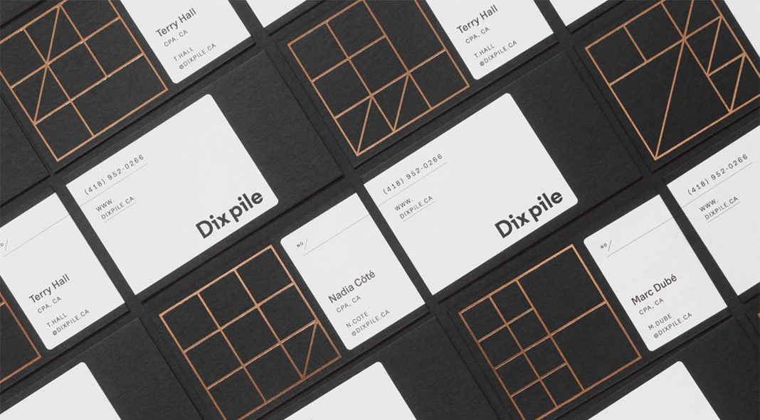 Dix pile - branding by Jeremy Hall.