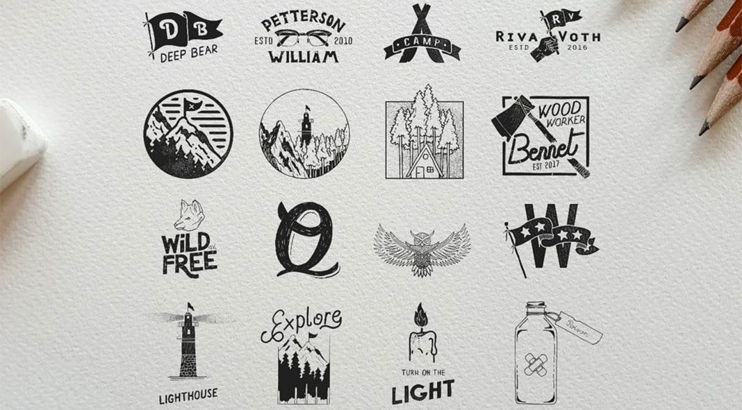 Hand-drawn graphics by Deep Bear