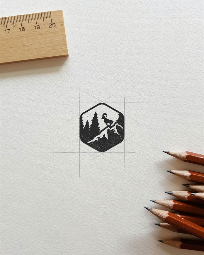 In collaboration with Justin Longo, Deep Bear has created the logo for the Men's Journal.