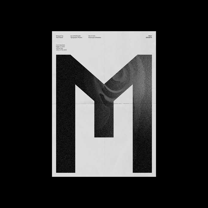 The letter M.