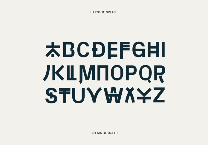 Corporate font.