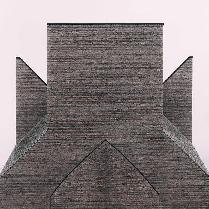 Monolicious II . Centro pastorale Giovanni XIII . Architect Botta Mario