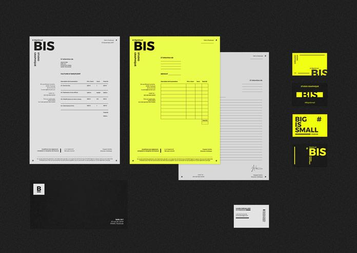 BIS Studio brand identity.