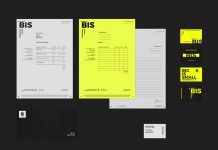 BIS Studio brand identity