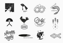 Little marks and logo designs by vacaliebres aka Alberto Vacca Lepri.