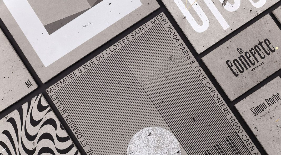 The Concrete Project - graphic design by Murmure.