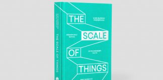 The Scale of Things - book design by Praline