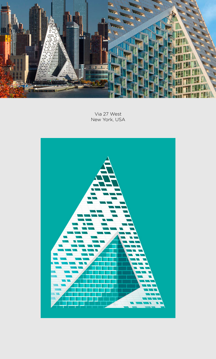 Via 57 West Bjarke Ingles Group Poster