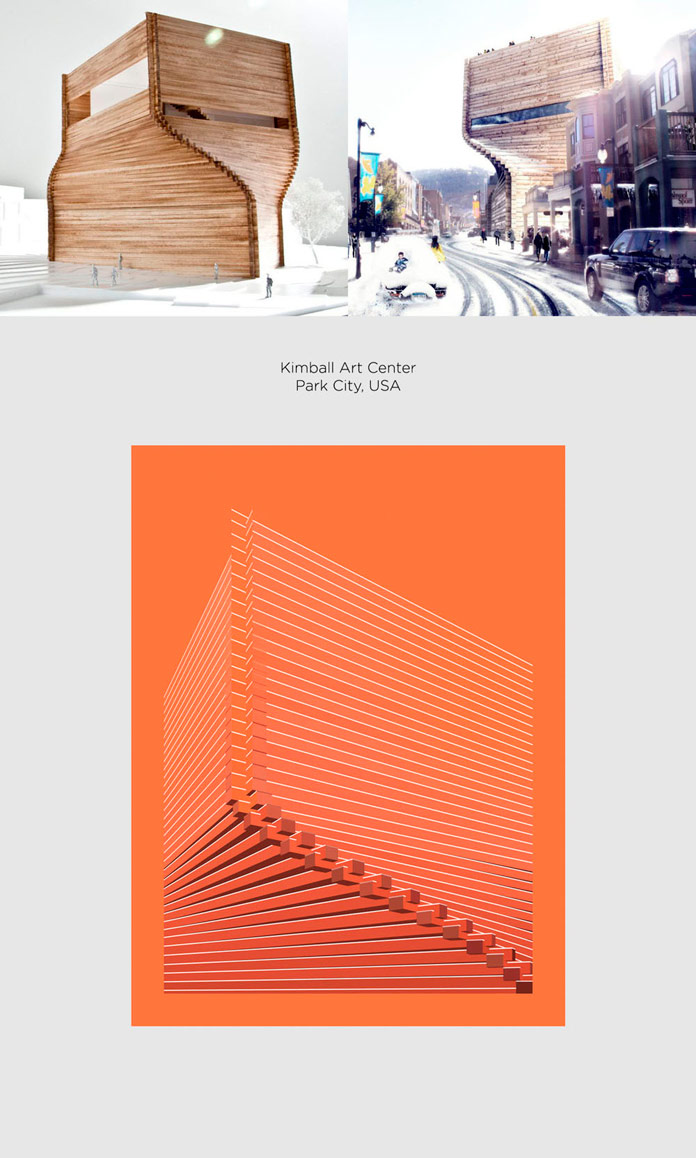 Kimball Art Center Bjarke Ingles Group Poster