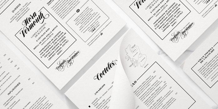 Great for designing menus.
