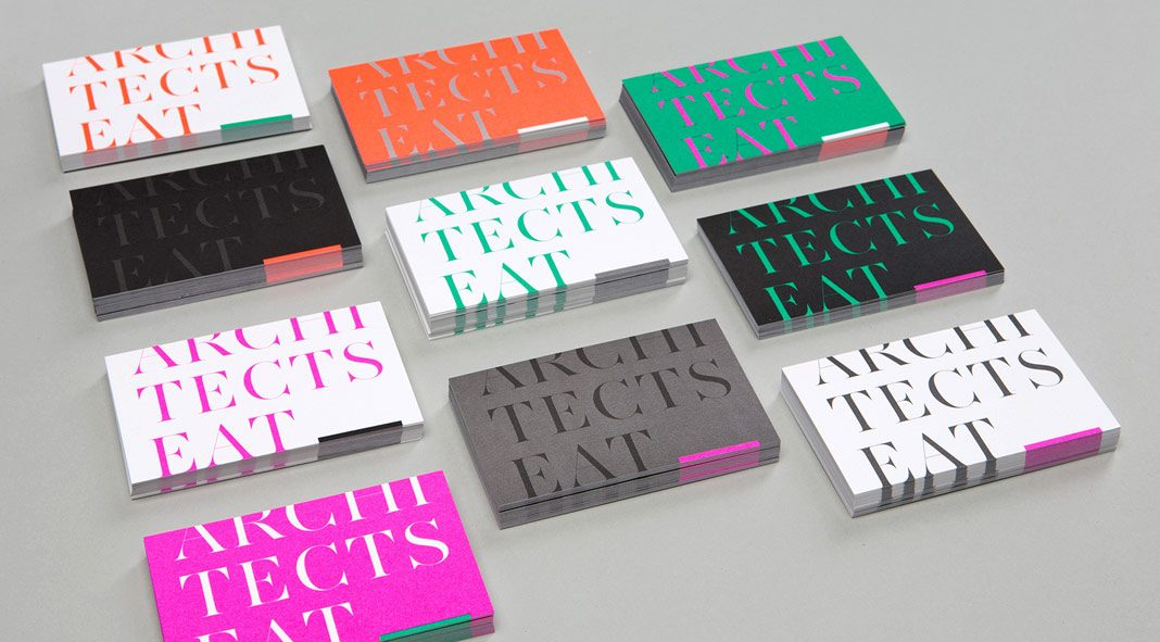 Architects Eat - branding and web design by Hue Studio.