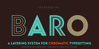 Baro font family from Indian Type Foundry