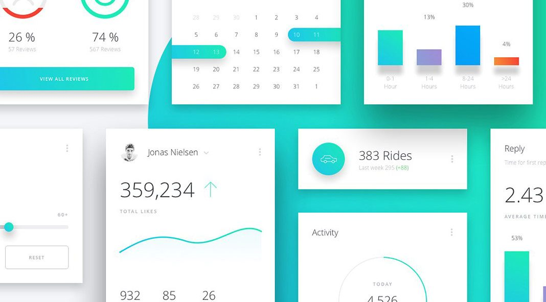Datta - Dashboard UI Kit.