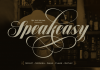 Speakeasy font combo by Alejandro Paul of Sudtipos.