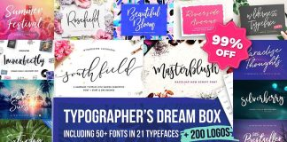 Typographer's Dream Box plus 200 Logos by Mats-Peter Forss.