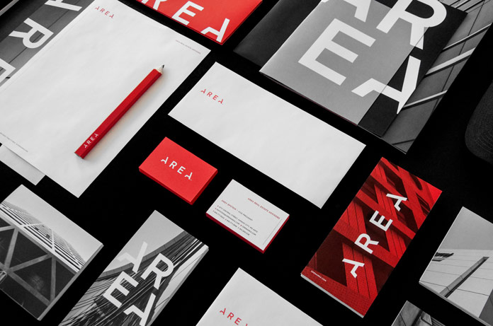 Graphic design, branding, art direction, and editorial design by studio Design Ranch for AREA.