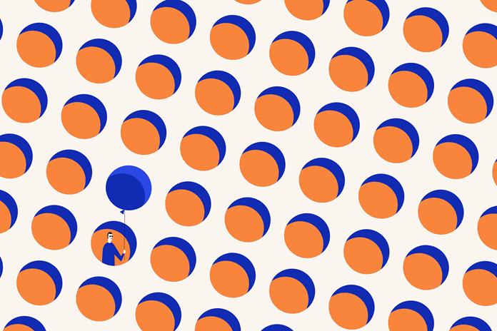 Lovely illustrated pattern design.