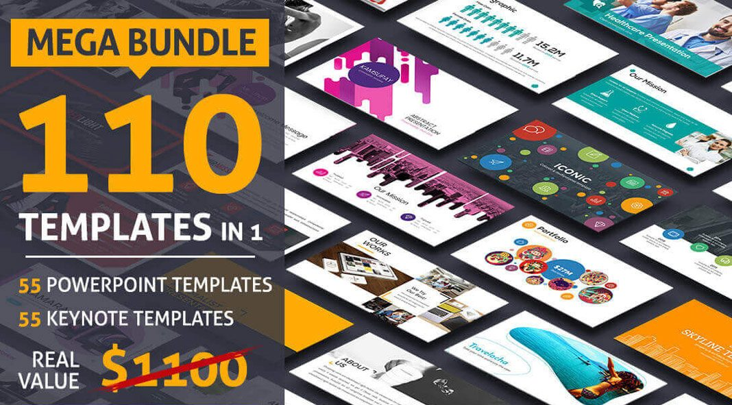 55 templates for PowerPoint and Keynote from SlideFactory plus thousands of diagrams and infographcs.