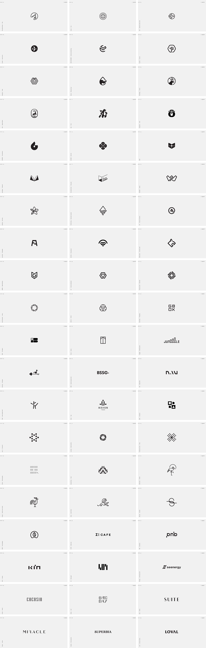 60 Logotypes and Marks by Bratus