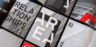 AREA branding by studio Design Ranch.