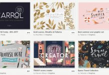 Creative Market June bundle with 83 amazing products.