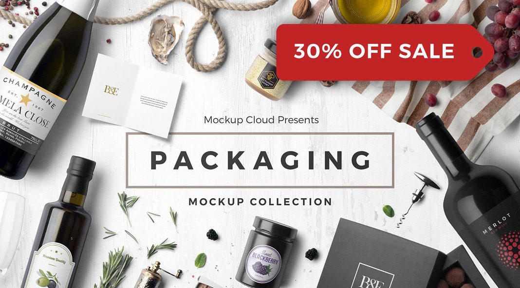 Packaging Mockup Collection.