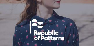 Republic of Patterns branding by Studio Sarna.