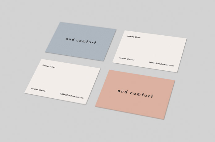 And Comfort Branding by Kati Forner