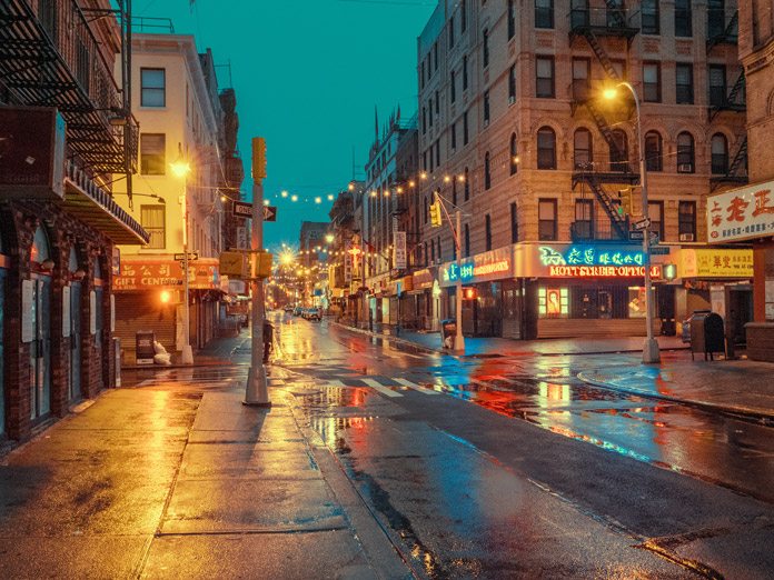 Chinatown, New York Photography by Ludwig Favre