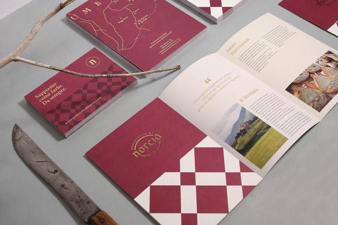 Prosciutto di Norcia branding by Bocanegra Studio.