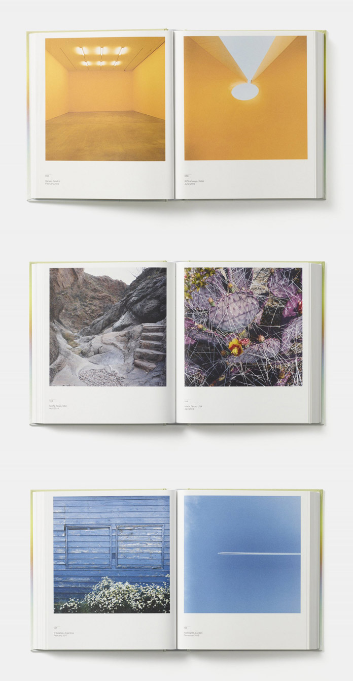 Spectrum—John Pawson's second photographic book comprising a chromatically ordered sequence of 320 images.