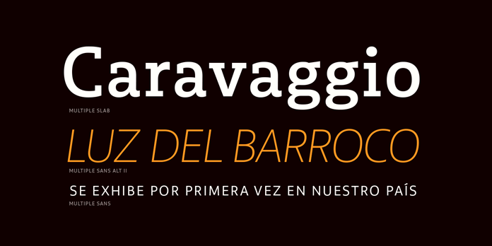 Multiple fonts from Latinotype - text samples