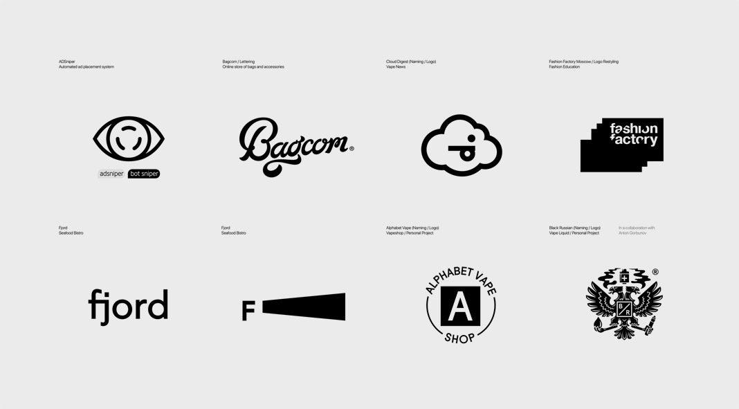 150 logos designed by Dima Bertoluchi