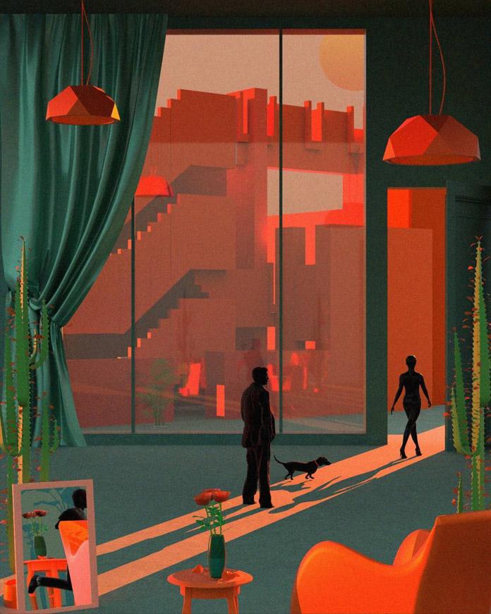 Artwork by Tishk Barzanji.