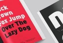 Anteb font family from Typesketchbook