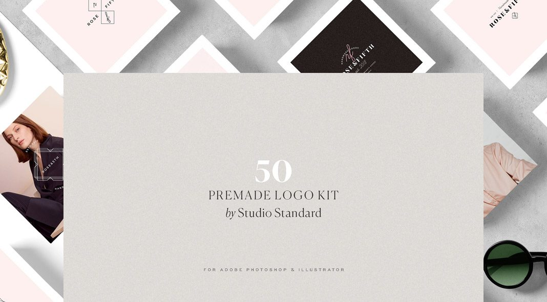 Brand Kit with 50 logo templates from Studio Standard