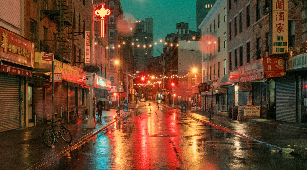 Buildings In Chinatown New York