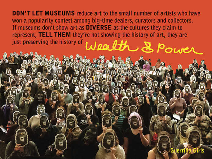 Guerrilla Girls - Wealth Power, 2016