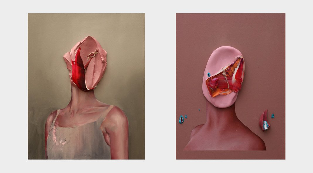 Is it you—paintings by Fabio La Fauci.