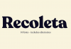 Recoleta font family from Latinotype