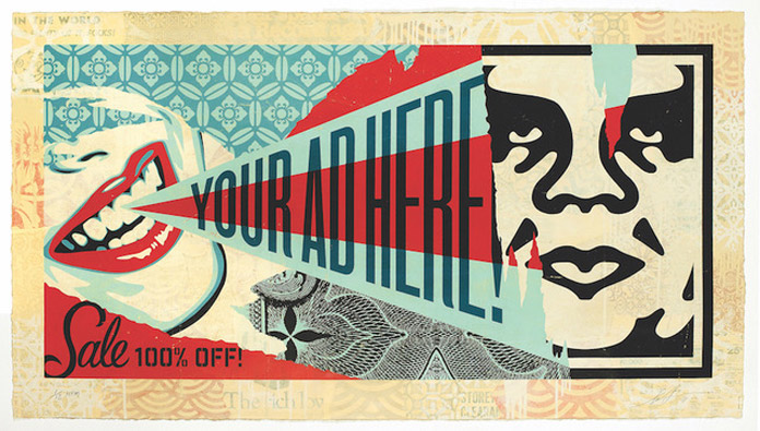 Shepard Fairey Beyond the Streets Billboard 2018